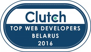 Clutch.co Top Developers in Belarus 2016